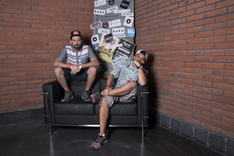 Presentadores - Berna & Saza Rob