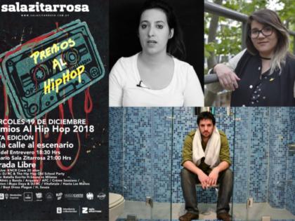 PREMIOS AL HIP HOP 2018 [JURADOS] | INCORPORACIONES DESTACADAS QUE DESTACAN