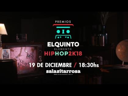 VIDEO ESTRENO | CELEBRACION DE LA CULTURA SE RESPIRA EN EL CLIP DE LOS PREMIOS AL HIP HOP 2018